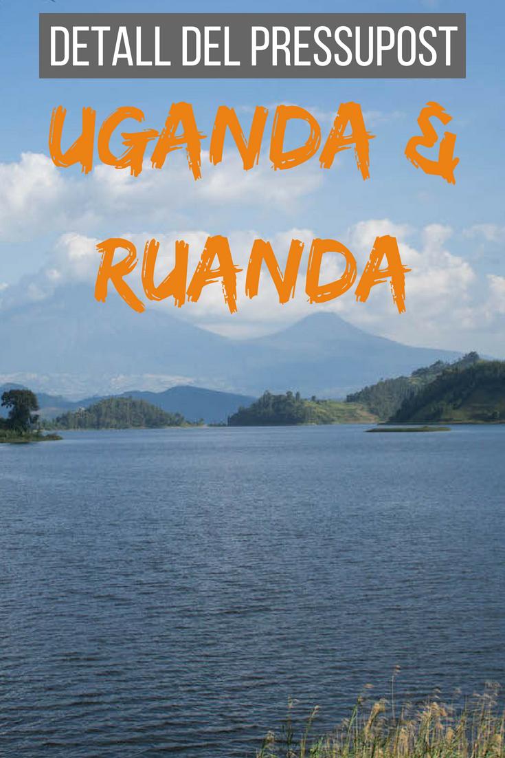 Detall del pressupost Uganda i Ruanda