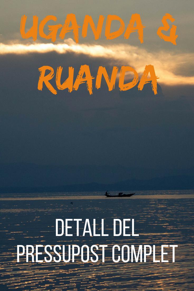 Uganda i Ruanda Detall del pressupost complet
