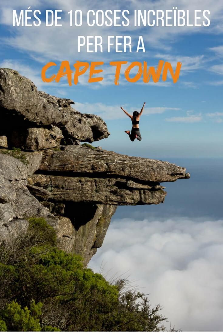 10+ coses increïbles per fer a Cape Town