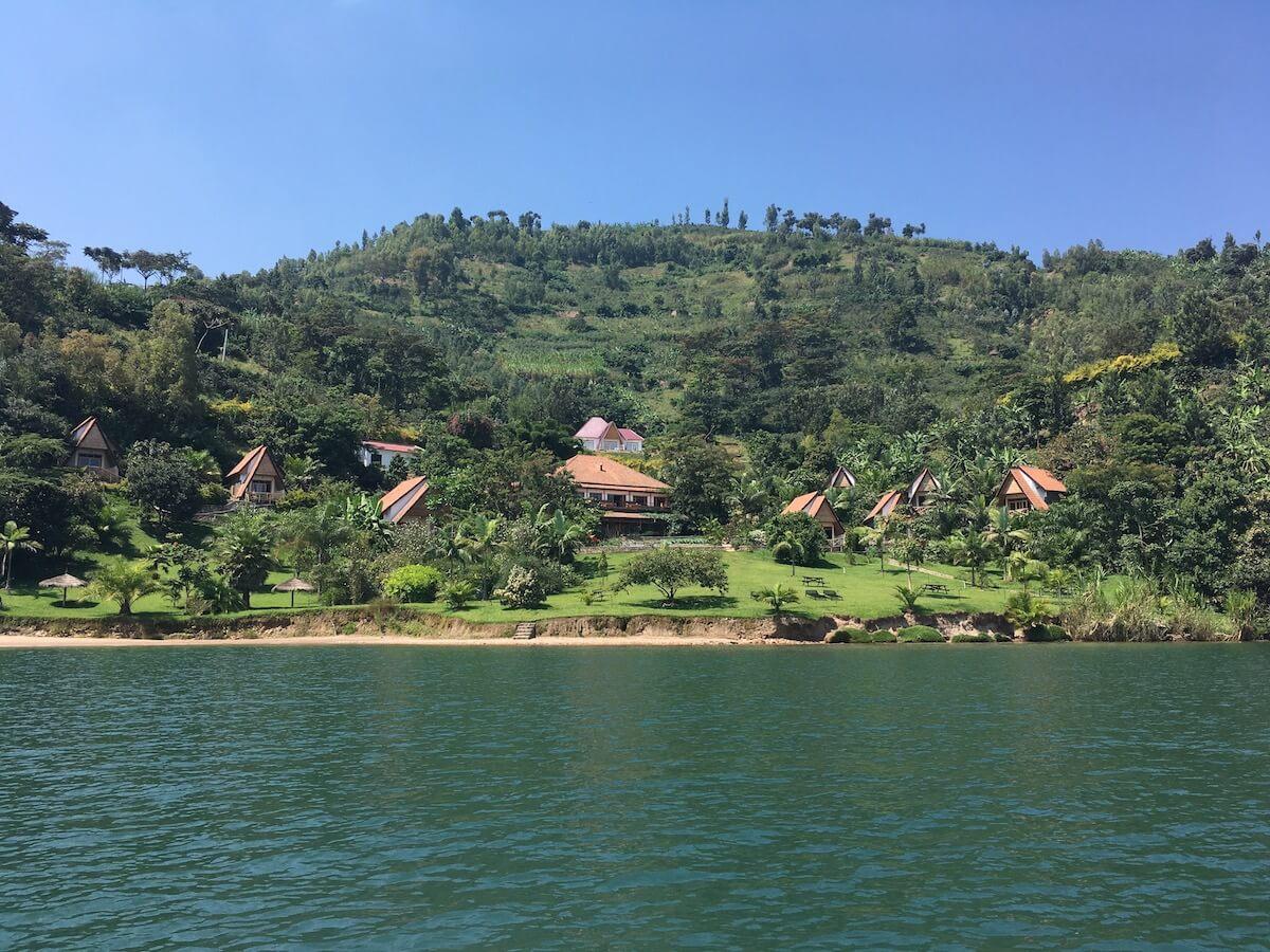 Paradise Kivu lodge, Ruanda
