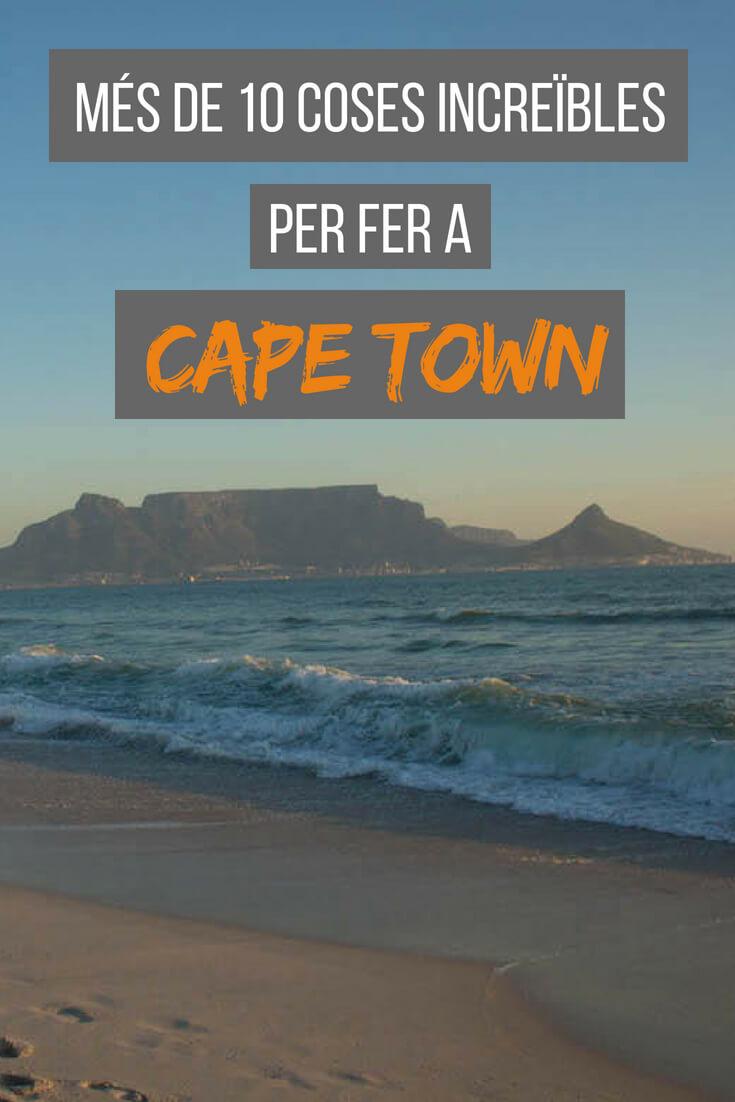 Més de 10 coses increïbles per fer a Cape Town