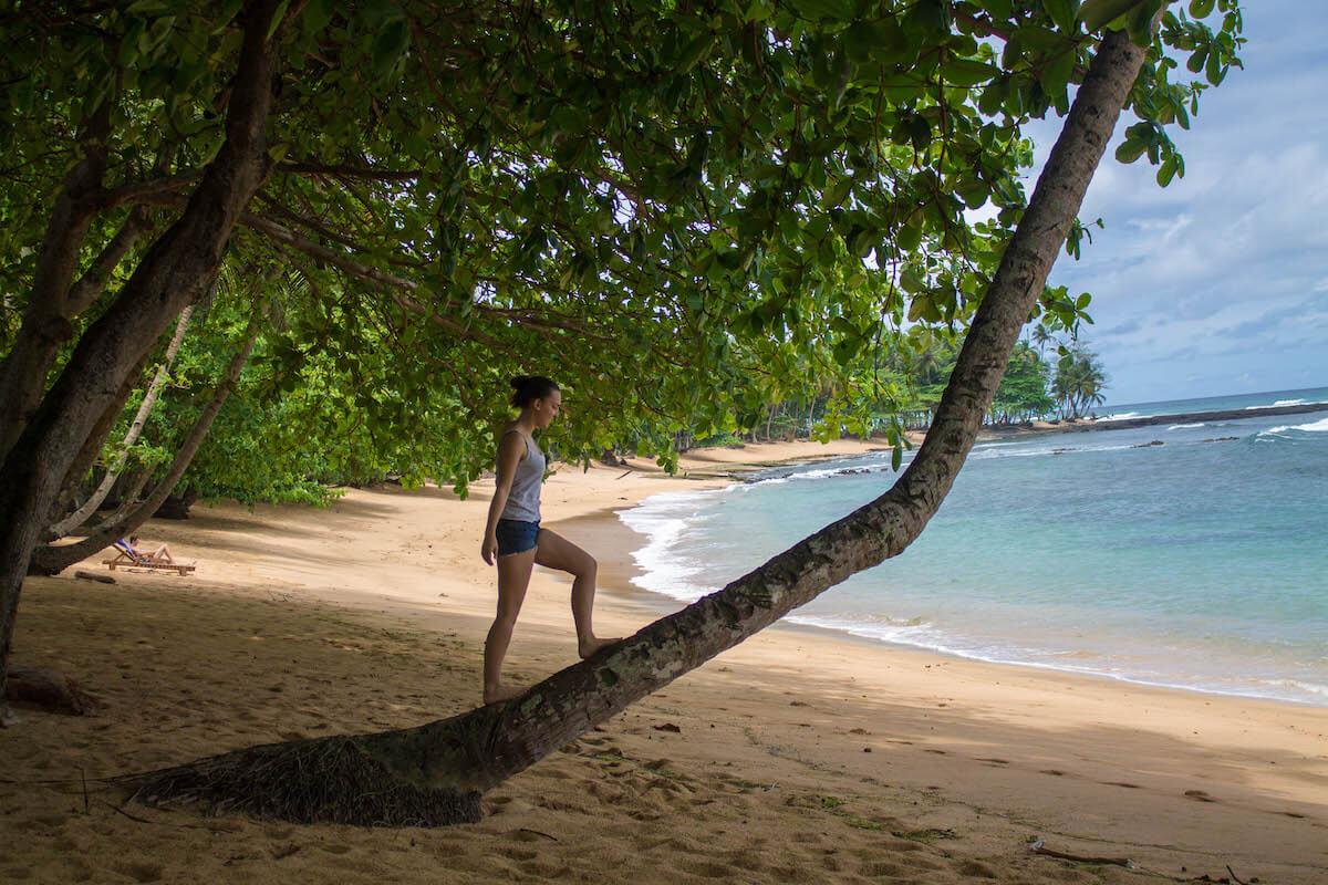 Praia Inhambana a Sao Tomé