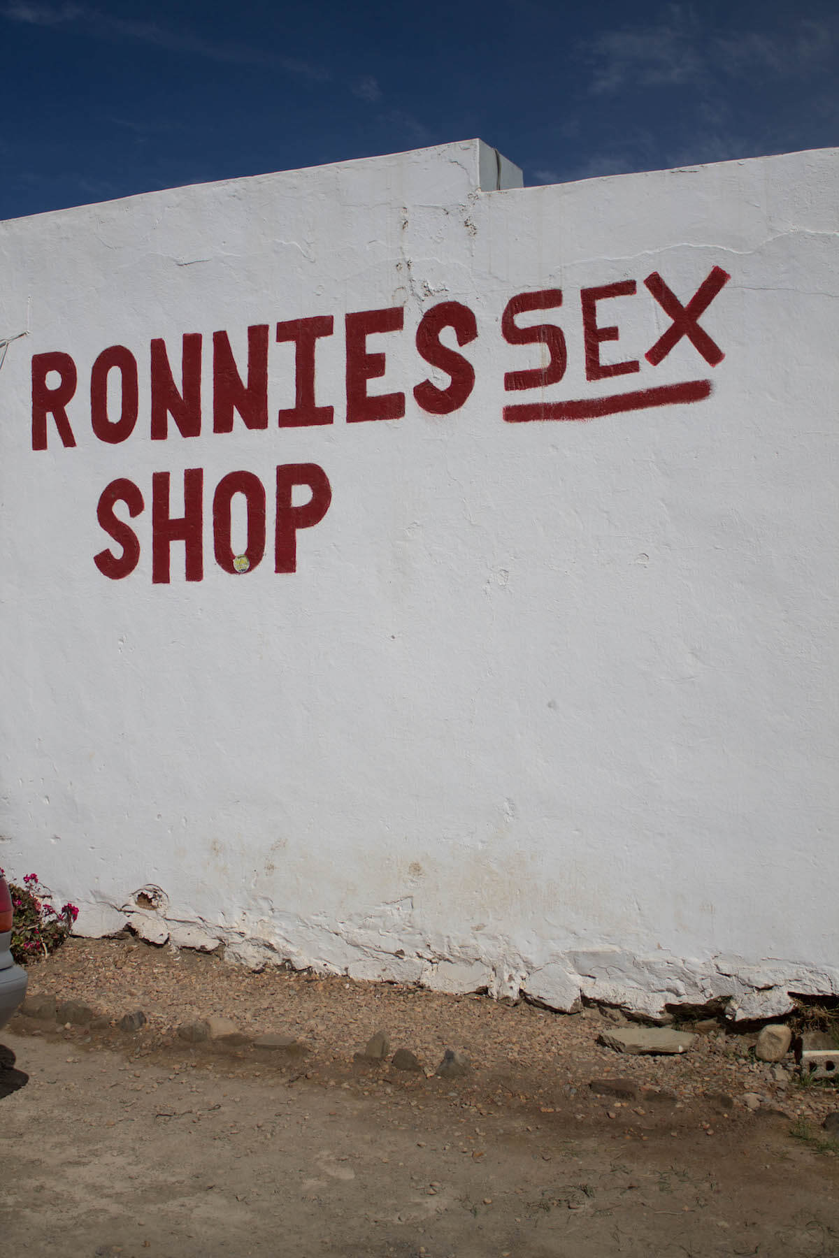 4 day Garden Route Itinerary: Ronnies sex shop
