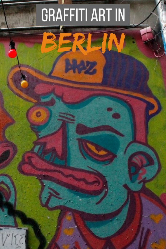 Graffiti art in Berlin