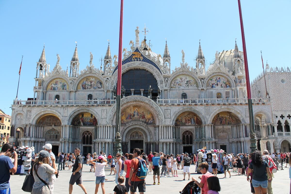 Piazza San Marco after 12