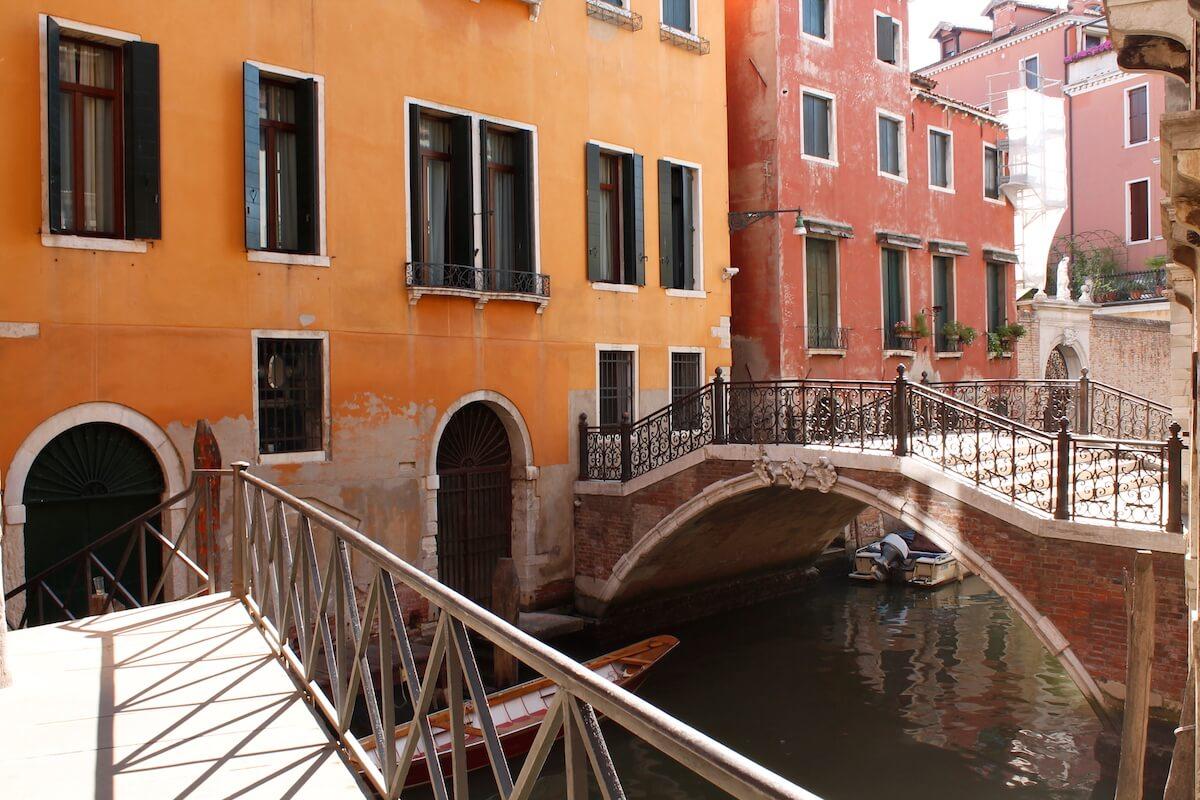 Bridges and canals of Venice