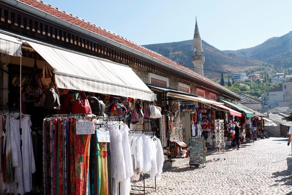 Mostar's market