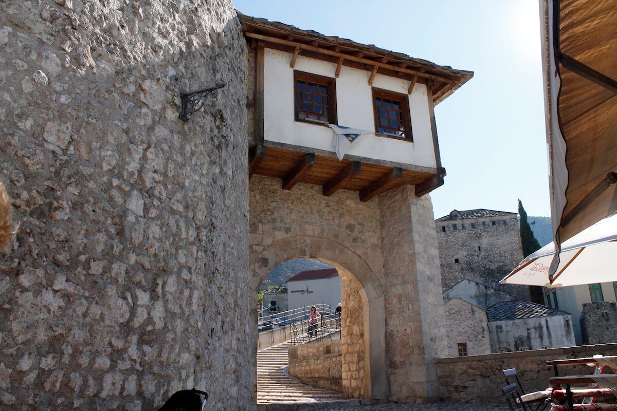 Mostar's old bridge