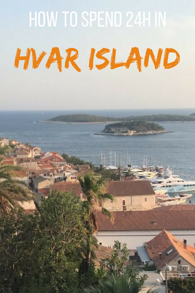 How to spend 24h in Hvar Island