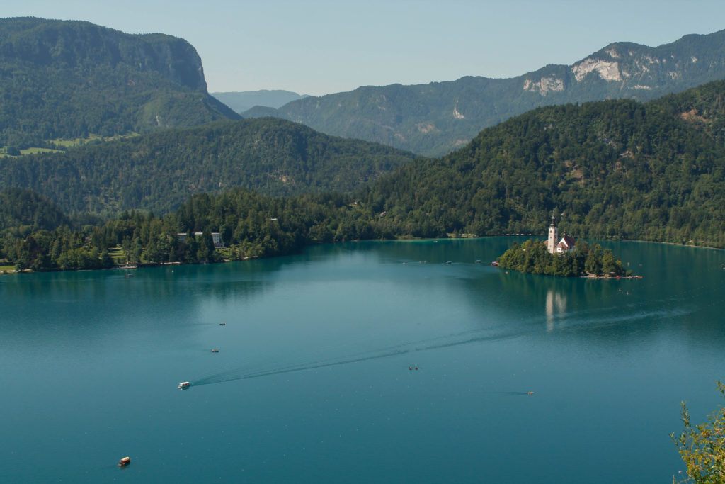 One week itinerary in Slovenia: lake Bled