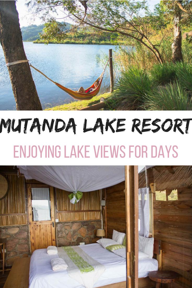 Mutanda Lake Resort enjoying lake views for days