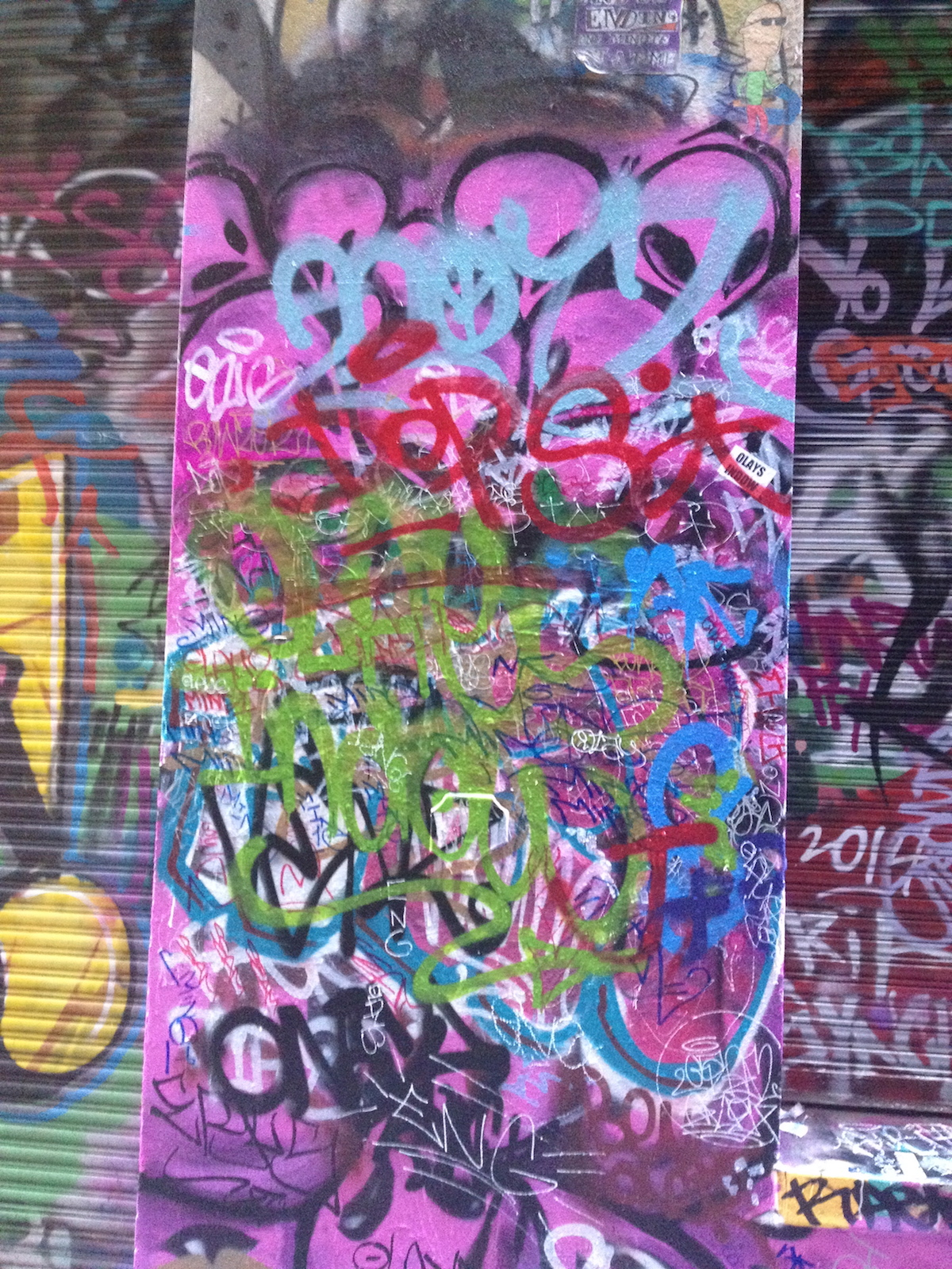 Graffiti lanes a Malebourne