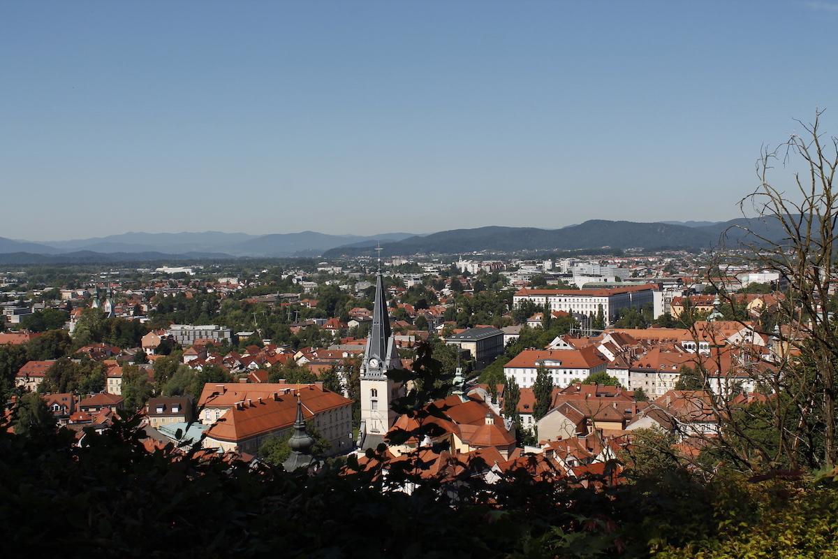 Buscant dracs a la ciutat sostenible de Ljubljana