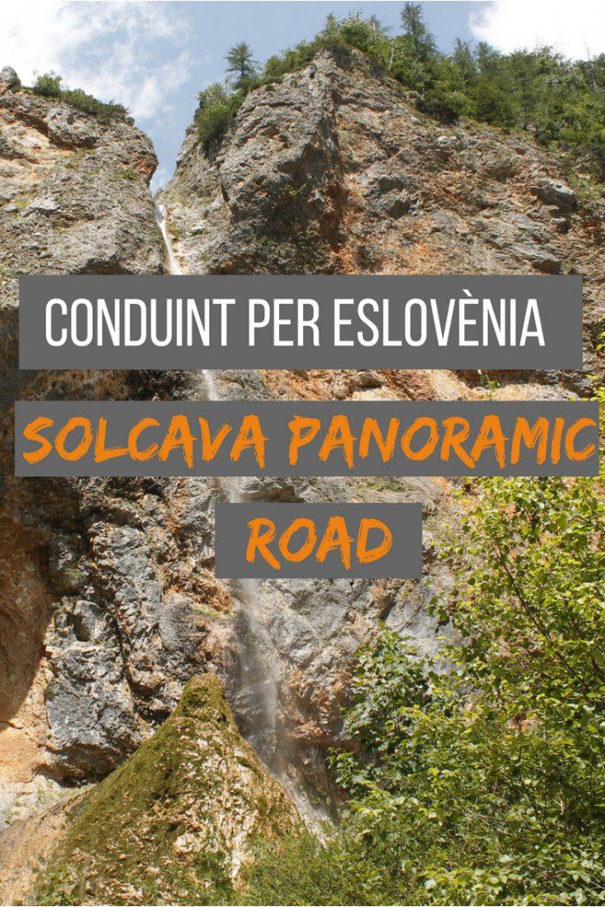 Conduint per Eslovènia: Solcava Panorama Road