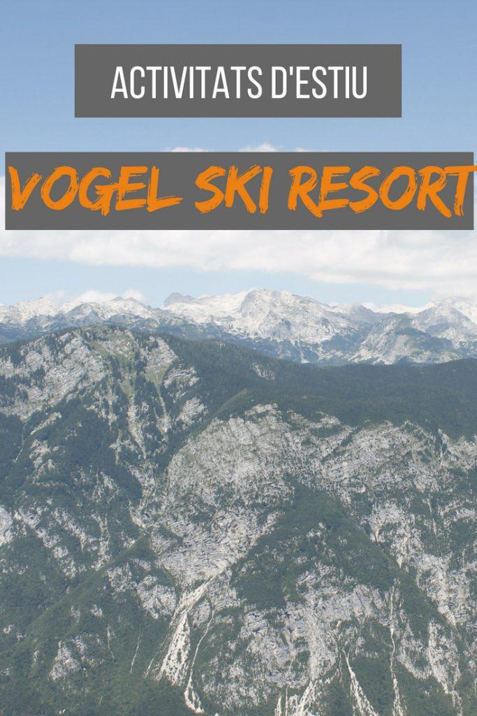 Activitiats d'estiu a Vogel Ski Resort, Eslovènia
