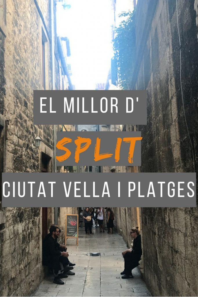 El millor d'Split ciutat vella i platges