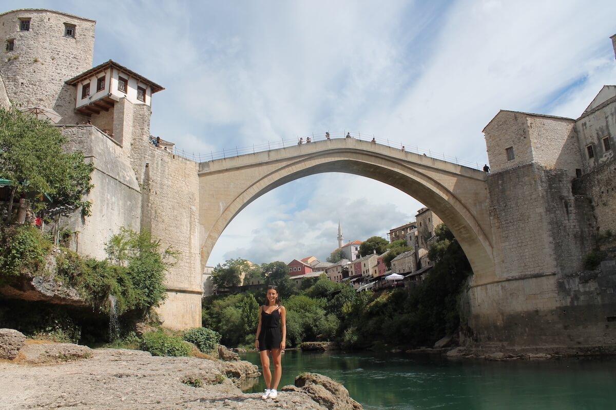 Enamorant-me de Mostar i el cevapi