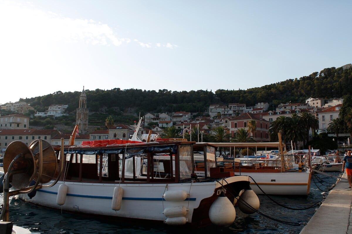 port de l'illa de Hvar