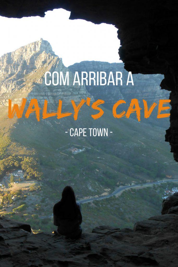 Com arribar a Wally's Cave, Sud-Àfrica
