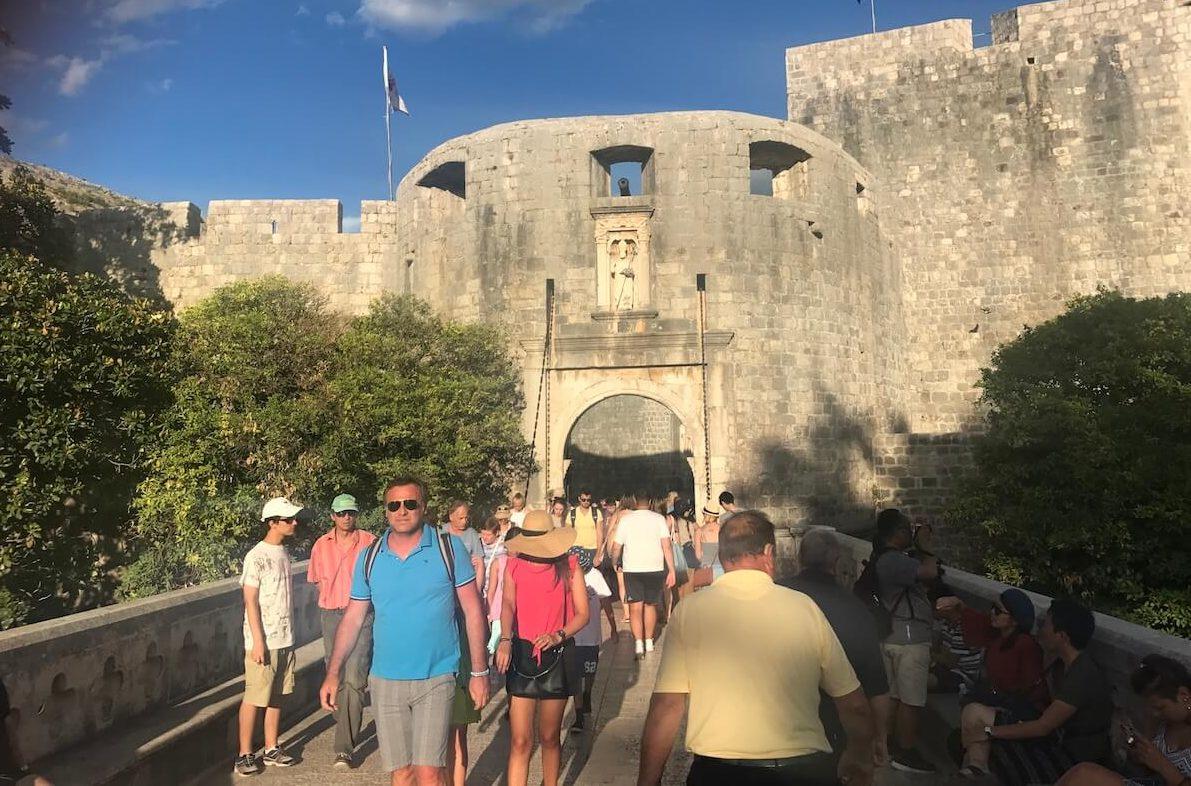 porta principal de la ciutat vella de Dubrovnik