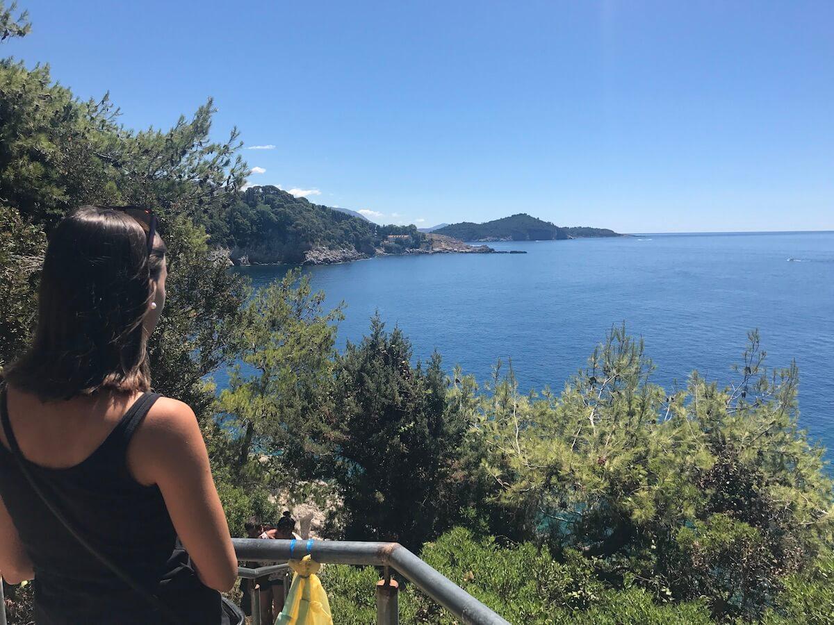 descobrint platges a prop de Dubrovnik