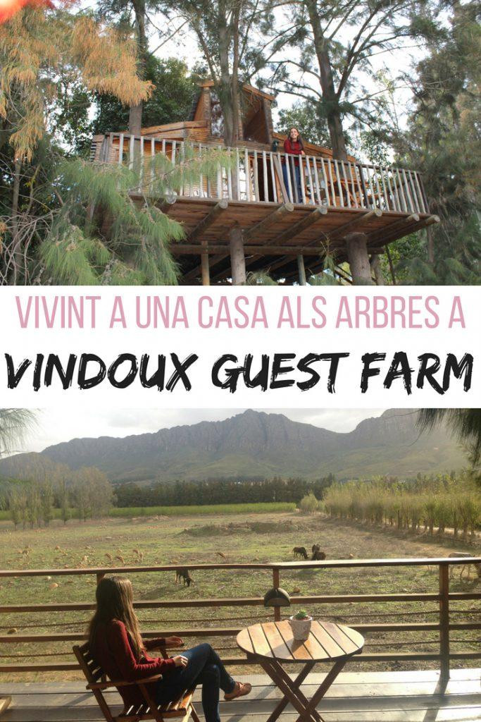 Vivint a una casa als arbres a Vindoux Guest Farm