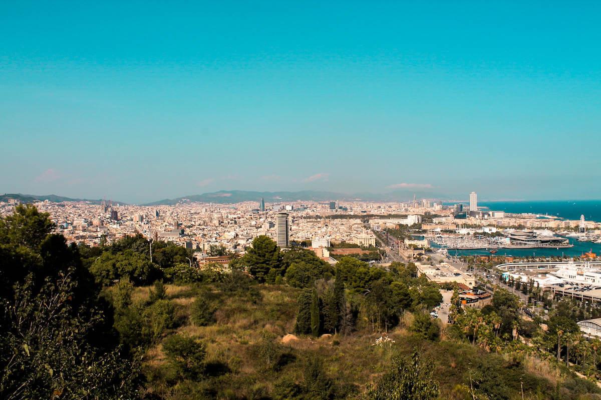 Vistes des de Montjuïc