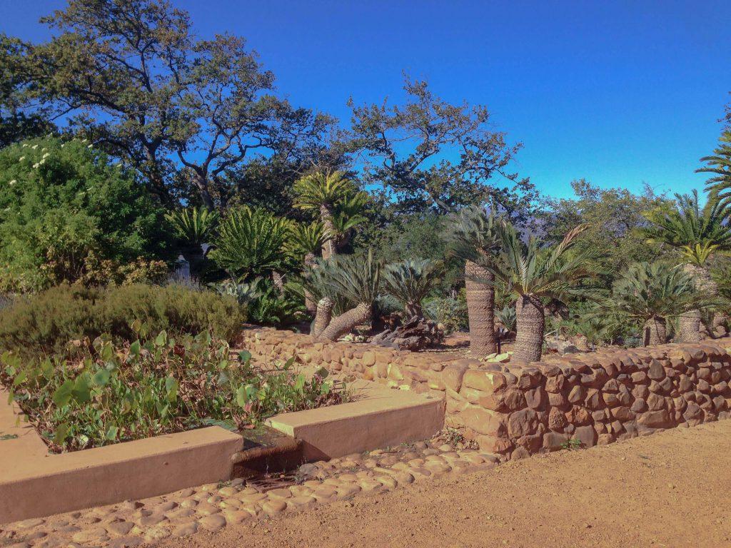 Entrada dels jardins de Babylonstoren