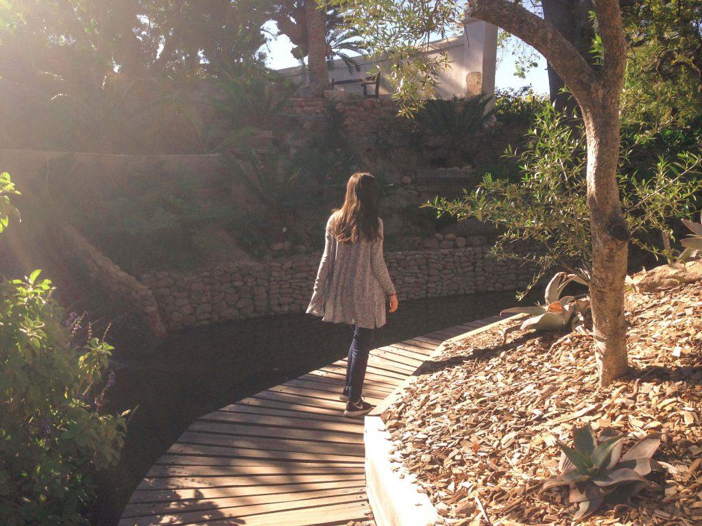 Passejant pels jardins de Babylonstoren