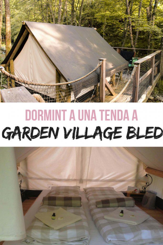 Dormint a una tenda a Garden Village Bled, Eslovènia
