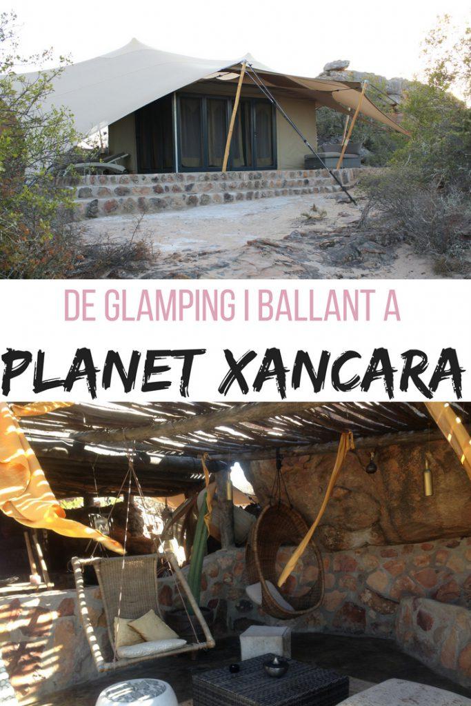 De glàmping i ballant a Planet Xancara