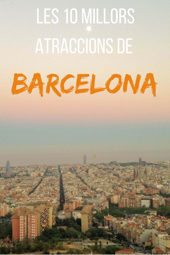 Les 10 millors atraccions de Barcelona