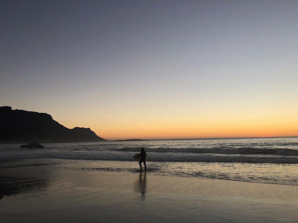 posta de sol des de Camps Bay