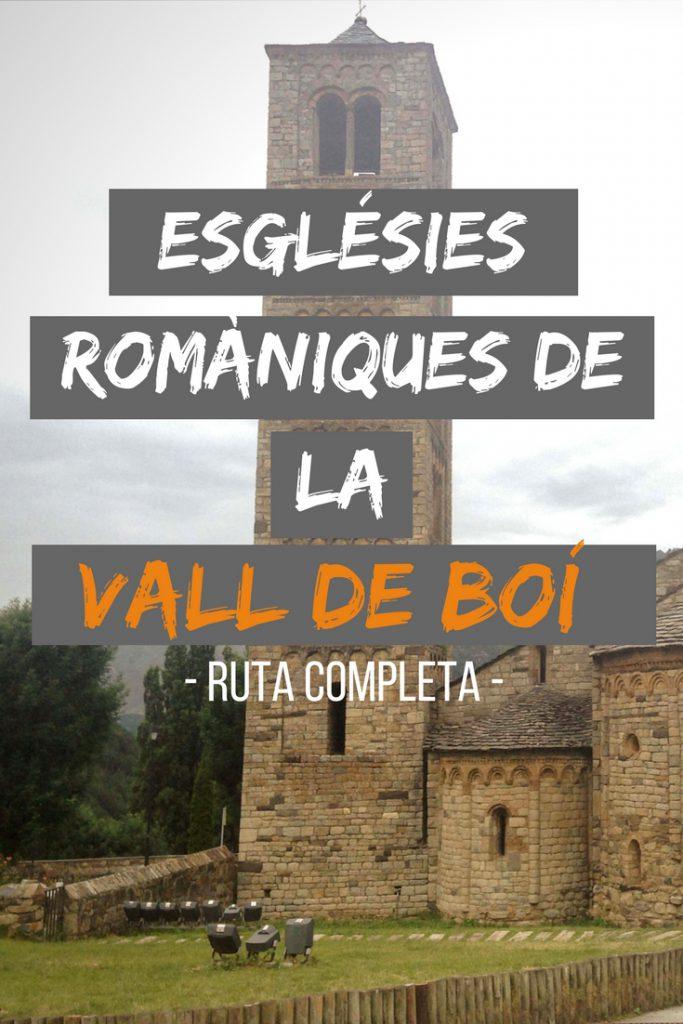 Esglésies romániques de la Vall de Boí