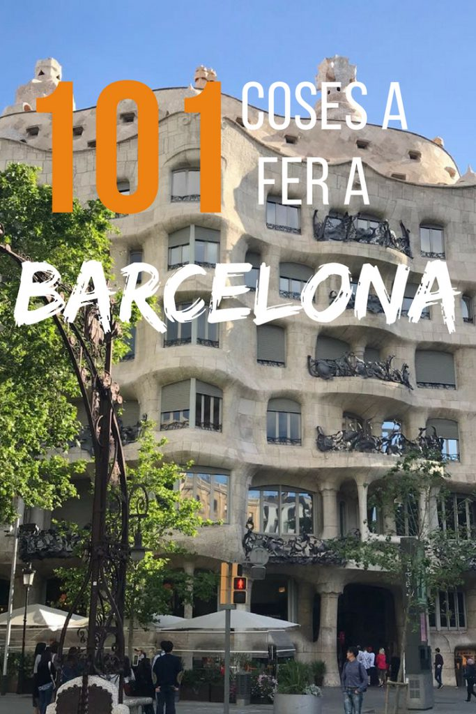 101 coses a fer a Barcelona