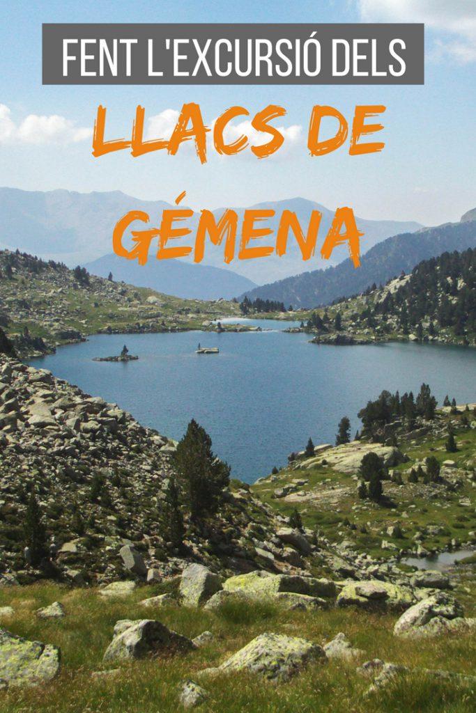 Fent l'excursió dels llacs de Gémena