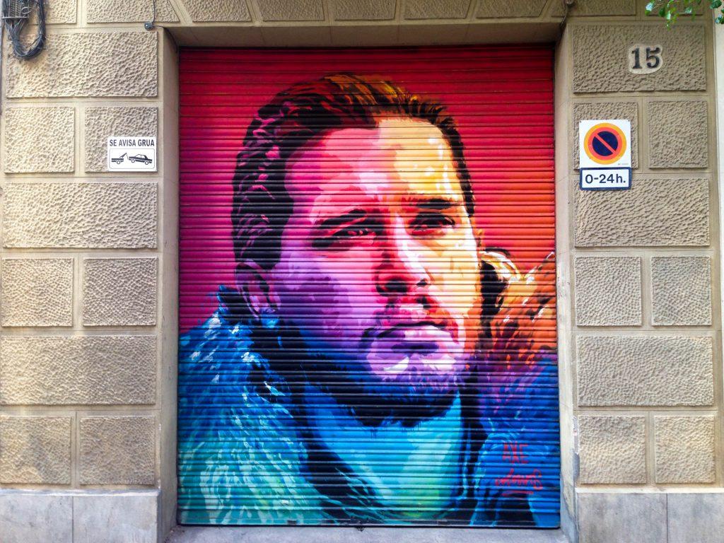 101 Coses a fer a Barcelona: graffiti John Snow