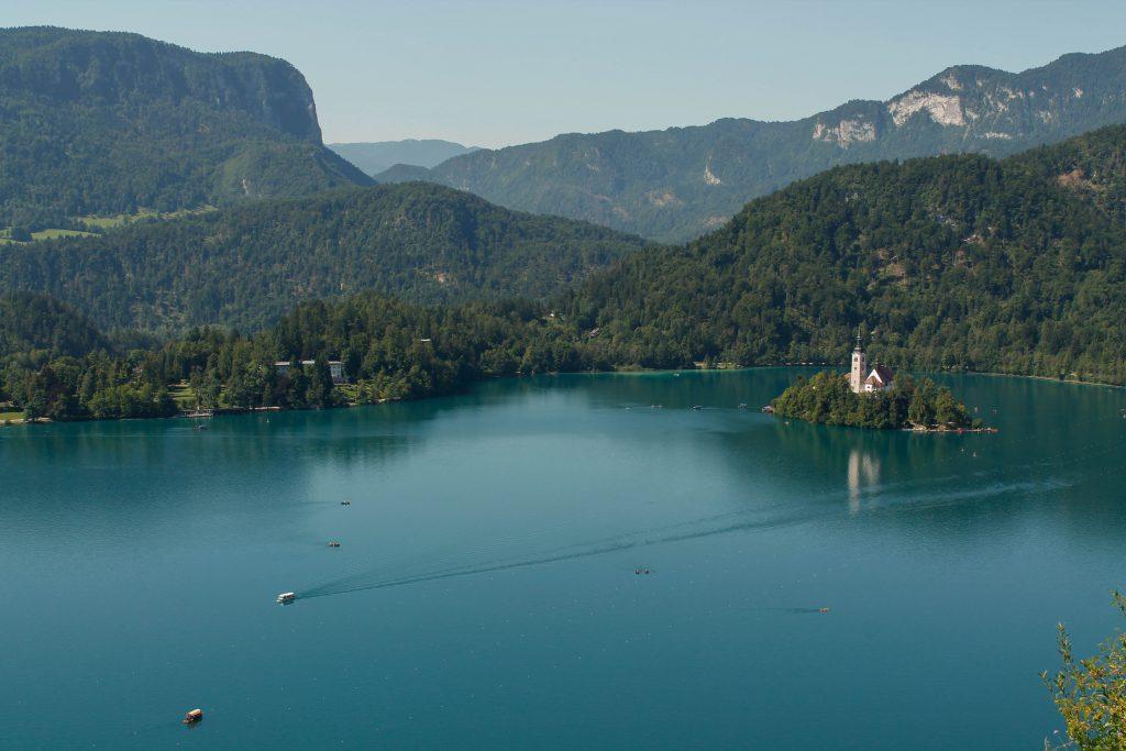 Itinerari d'una setmana a Eslovènia: llac Bled