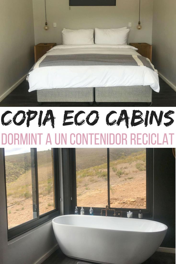 Copia Eco Cabins: dormint a un contenidor reciclat