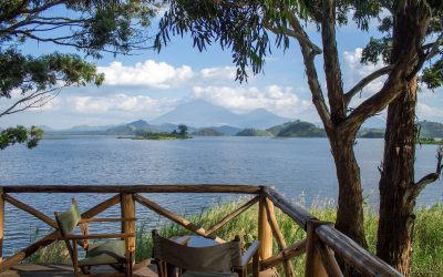 Vistes espectaculars des de Mutanda Lake Resort