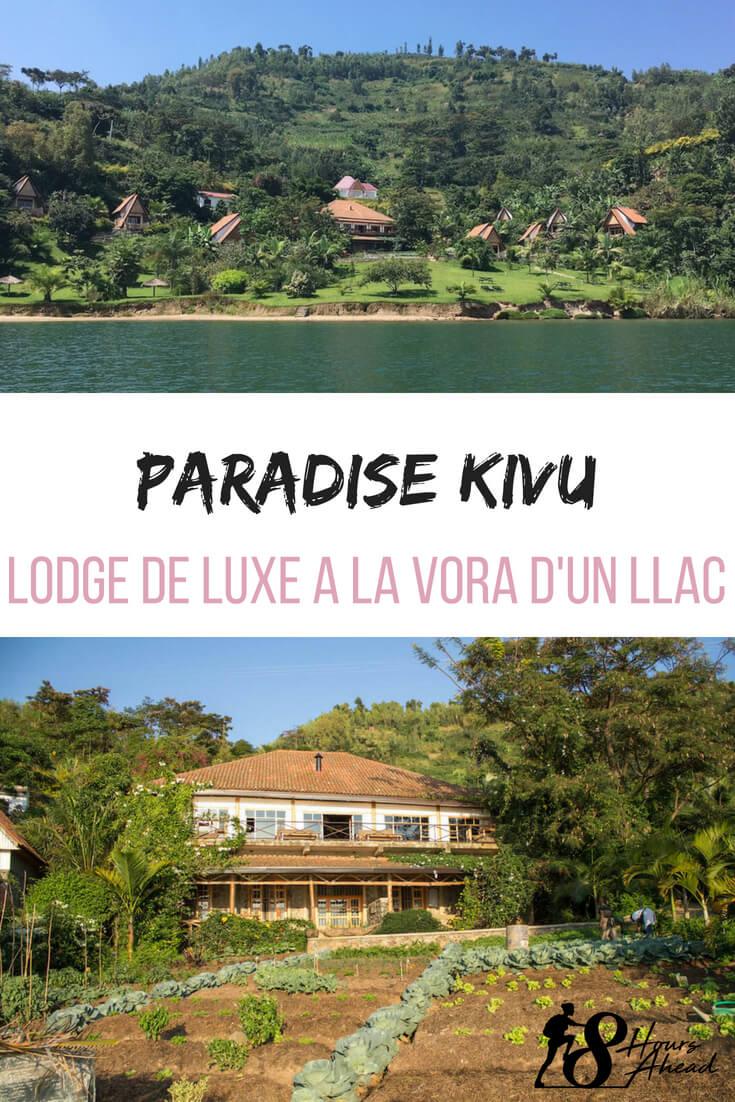 Paradise Kivu lodge de luxe a la vora d'un llac