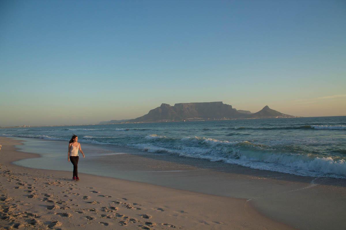 Més de 10 coses increïbles per fer a Cape Town: platja de Blouberg