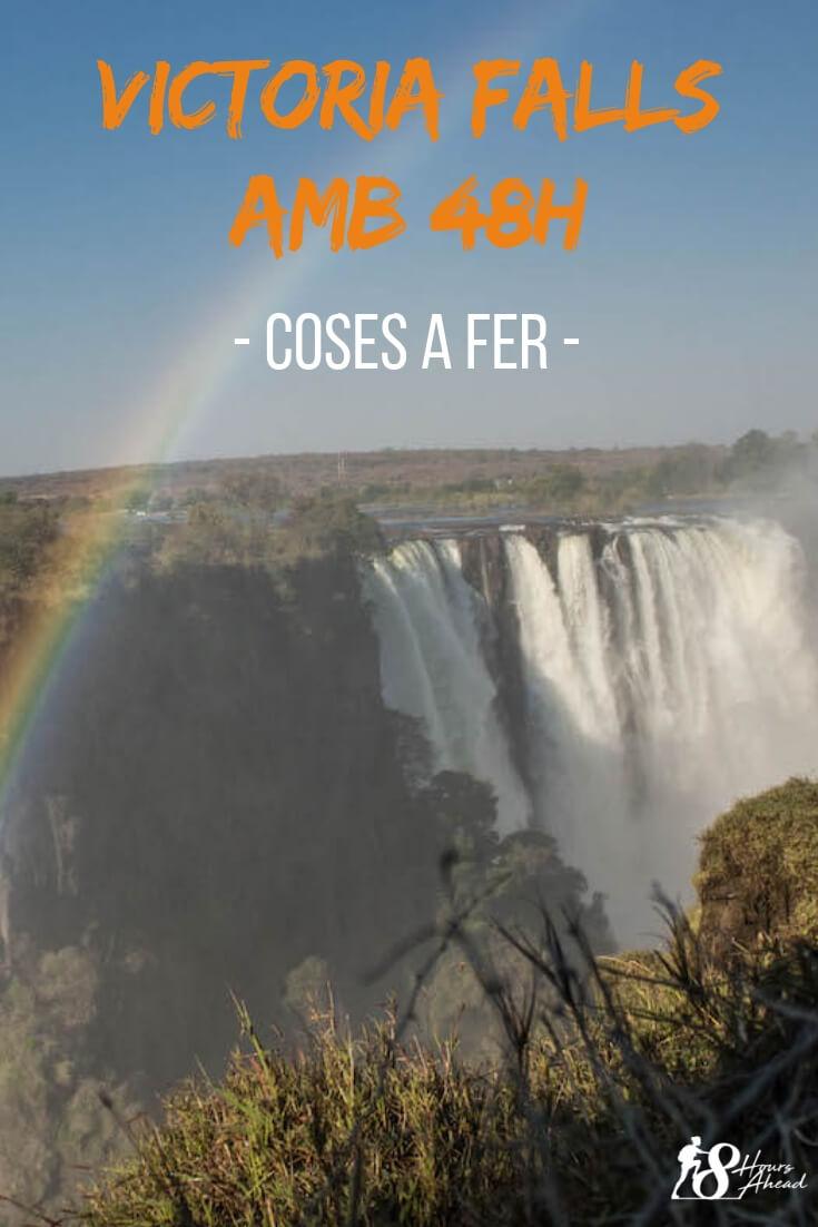 Victoria Falls amb 48h coses a fer