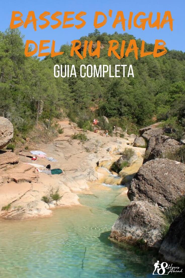 Basses d'aigua del riu Rialb guia completa