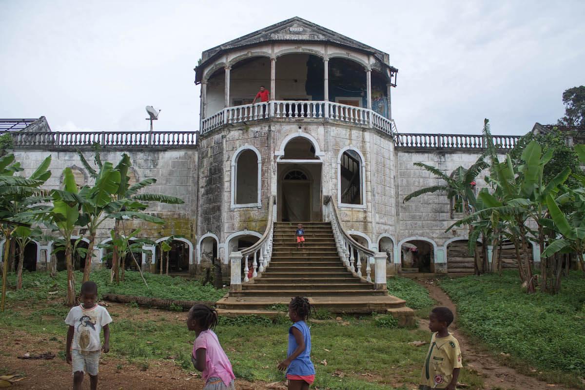 São Tomé excursió pel sud