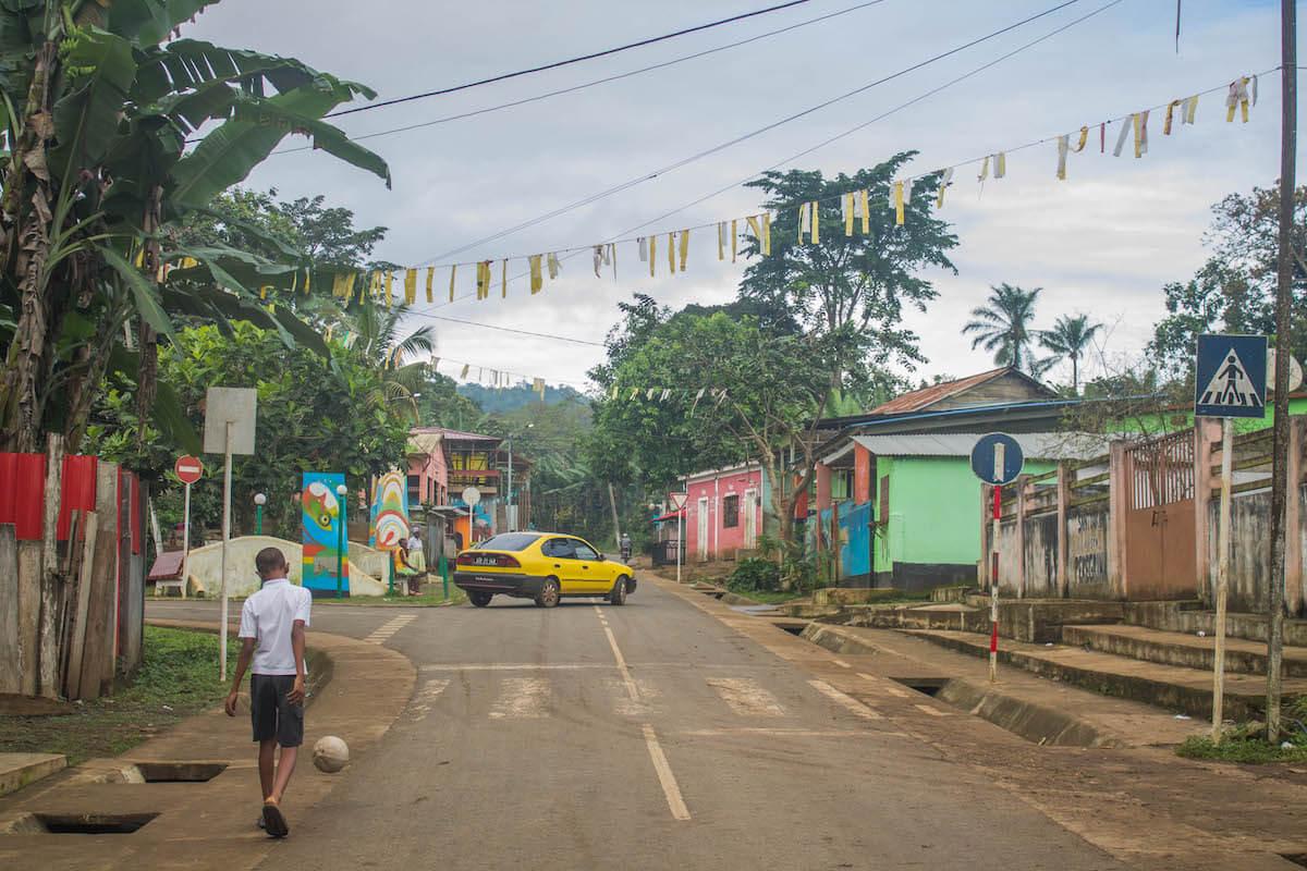 Illa de São Tomé : excursió pel centre