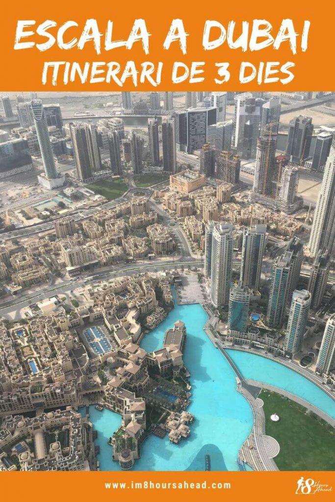 Escala llarga a Dubai: itinerari de 3 dies