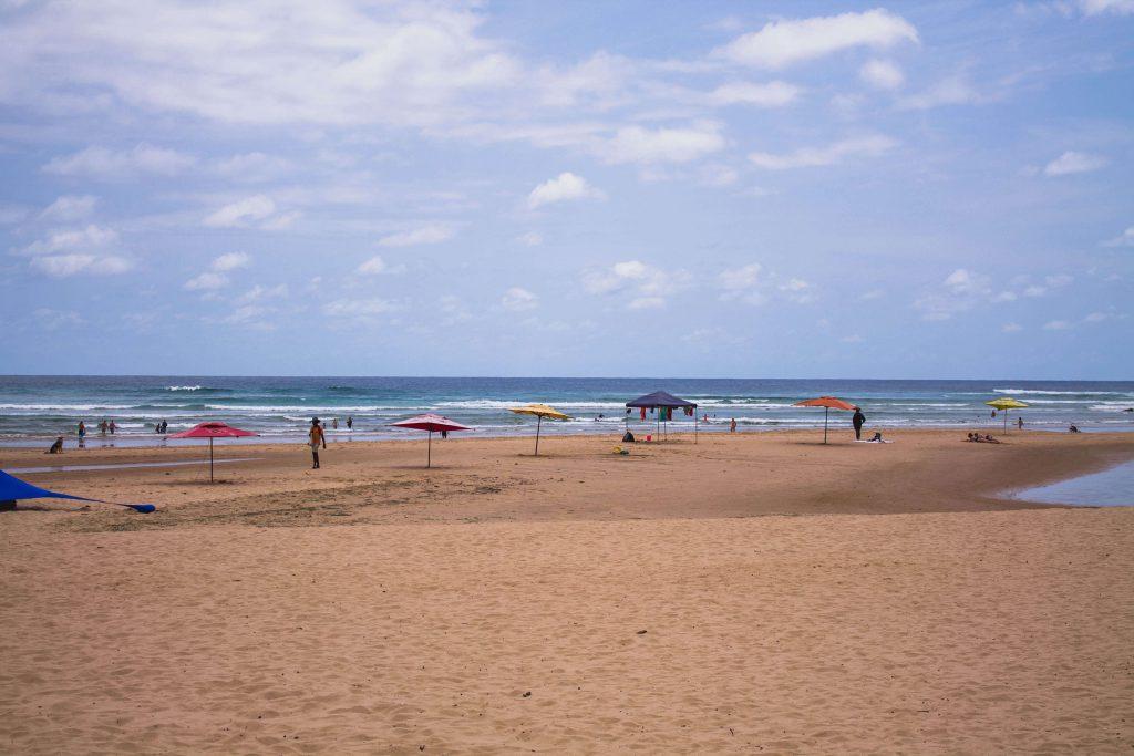 Vacances a Tofo Moçambic: platja principal