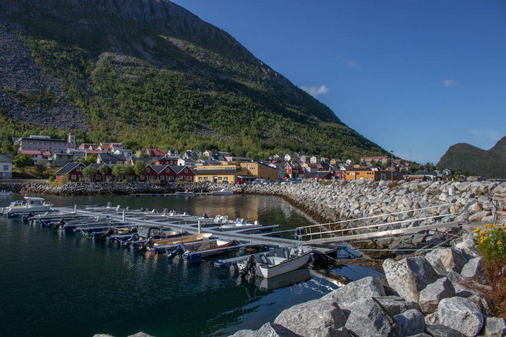 Què fer a Senja: arribada amb ferry