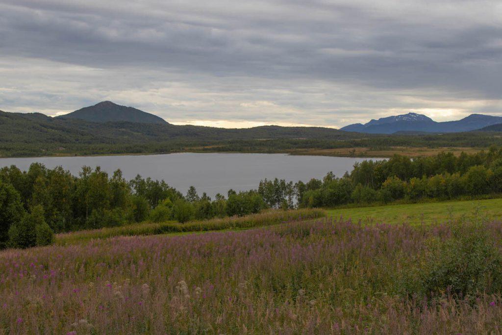 Què fer a Senja: llac Sorlivatnet